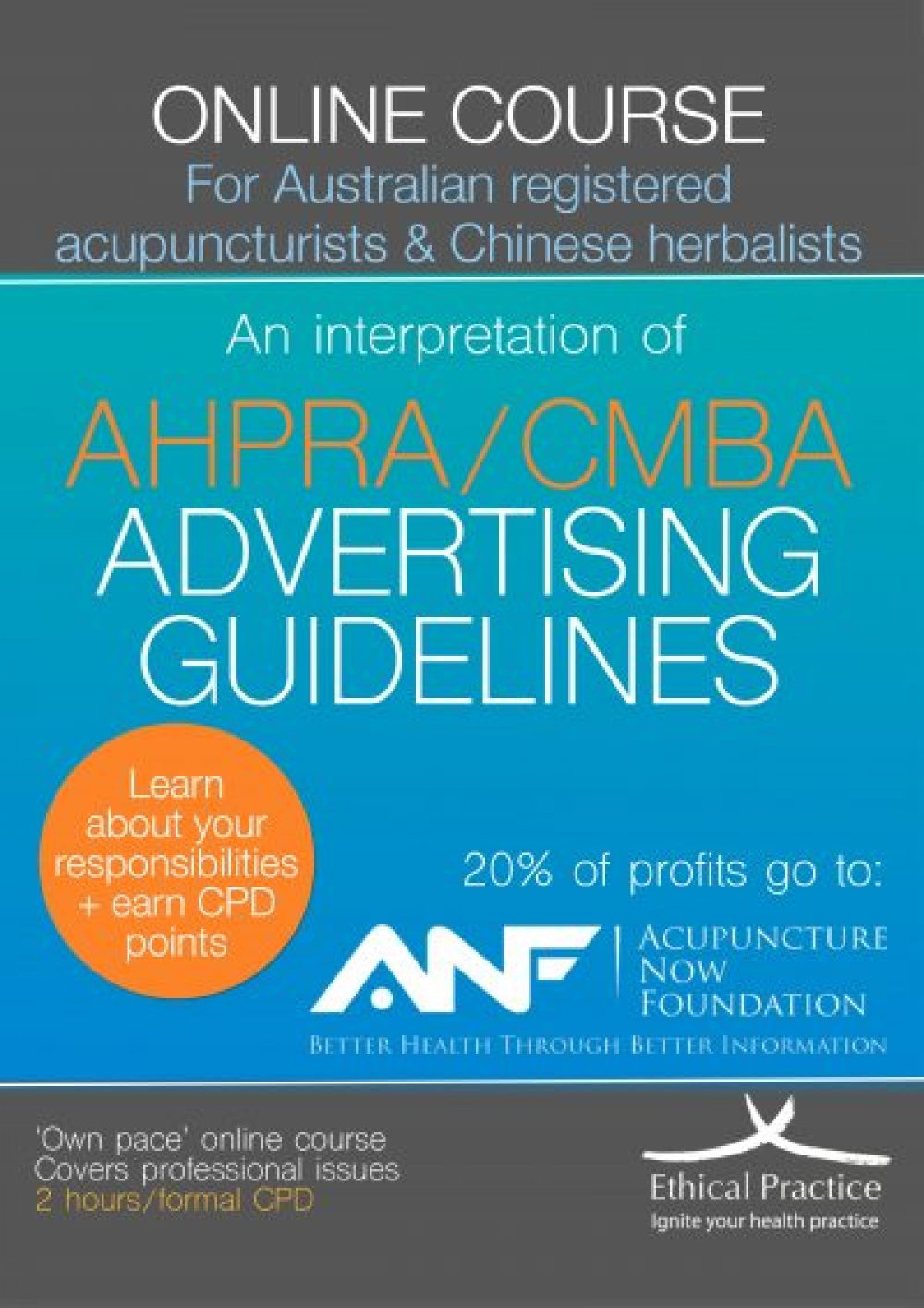 AHPRA CMBA Advertising Guidelines