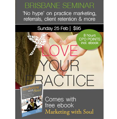 1 Day Seminar: Love Your Practice (Brisbane)