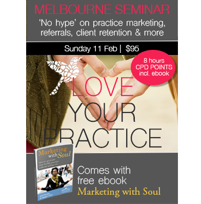 1 Day Seminar: Love Your Practice (Melbourne)