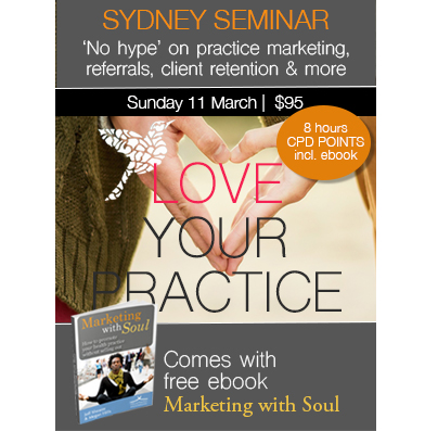 1 Day Seminar: Love Your Practice (Sydney)